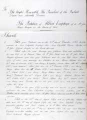 Albert Emptage divorce 1895 p1