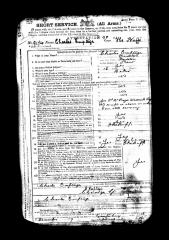 1909 Charles Emptage enlistment papers - Copy