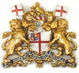 East India Company coat of arms c1730