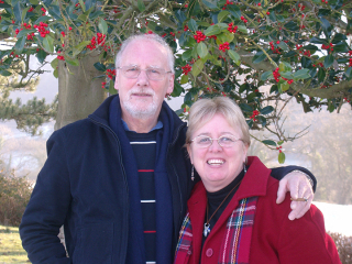David and Jo in Bryn Howell 2010 - cropped
