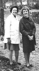 Hazel and Eileen November 1968