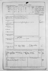 1916 Fredrick John military history sheet 2
