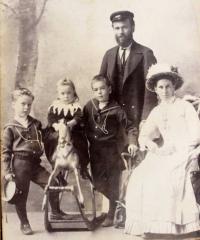 George-Maud-Family