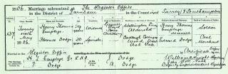 1906 Henry Thomas Emptage & Florence Dodge cropped