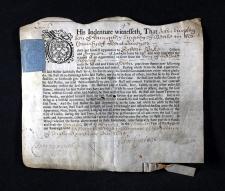 Indenture John Emtage 1695