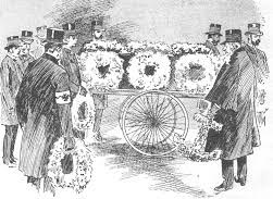 Funeral Charles Troughton coffin cropped