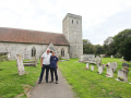 Andrew & Tim at Monkton Church