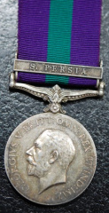 General Service Medal Clasp Sth Persia