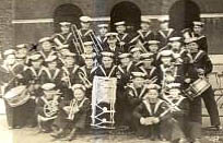 Toc. H. Chelsea, father on the left, below the X, next to boy with drum cropped