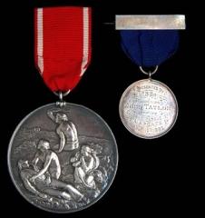 Sea Gallantry medal 1893