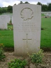 Norman Malcolm Emptage grave